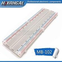 Макетная плата 830 Точка Пайки PCB хлеб доска MB-102 MB102 тестирование Разработка DIY hjxrhgal
