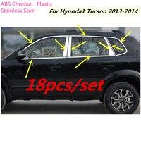 High Quality Car Styling Stick Stainless Steel Glass Window Garnish Pillar Middle Column Trim Hoods For