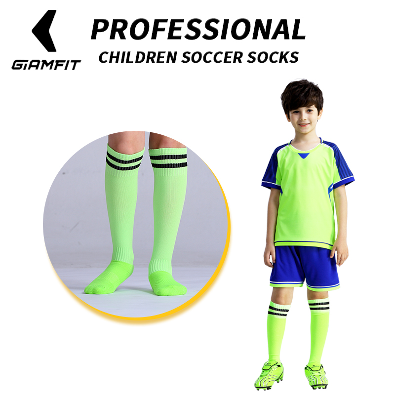 JIANFEI  Professional Kids Sports Soccer Socks Anti Slip Football Running Long Stocking Over Knee High Quality Elastics SocksJIANFEI  Professional Kids Sports Soccer Socks Anti Slip Football Running Long Stocking Over Knee High Quality Elastics Socks