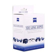 Zeiss предварительно смоченной объектив ЖК-дисплей LED Экран оптический Устройства для чистки камер ткань салфетки 100 отсчетов