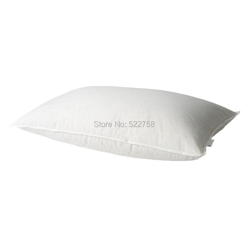 Puha Egy párna 95% fehér lúd párna 75 * 45 cm fehér, töltött - Lakástextil