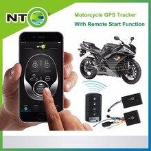 Motocicleta gps tracker dc12v à prova d' água um controlador de sistema de alarme da motocicleta remoto aplicativo gratuito google mapa língua espanhola