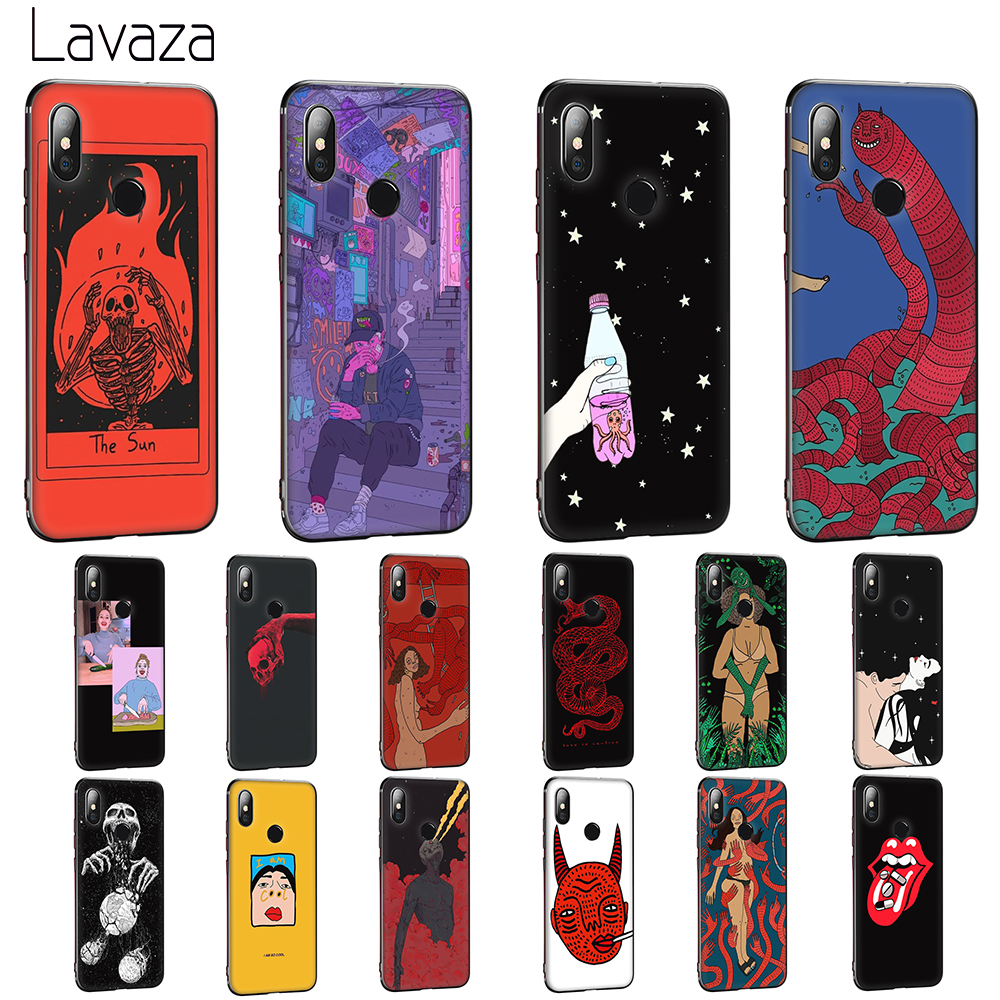 Lavaza Polly Nor painting art Soft Case for Huawei <font><b>Honor</b></font> 6 7A Pro 7C 8C 7 8X 8 <font><b>9</b></font> 10 <font><b>lite</b></font> Note10 image