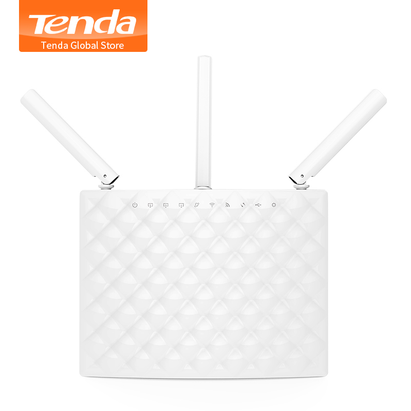 Tenda AC15 Smart 1900Mbps 11ac Gigabit Wireless WiFi Router Wi Fi Repeater USB 3 0 APP