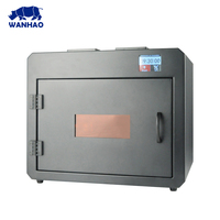 Wanhao Curing Box Boxman With 4 UV LED Sources With Stainless Steel Super Clean Box For Curing DLP SLA 3D Print Model