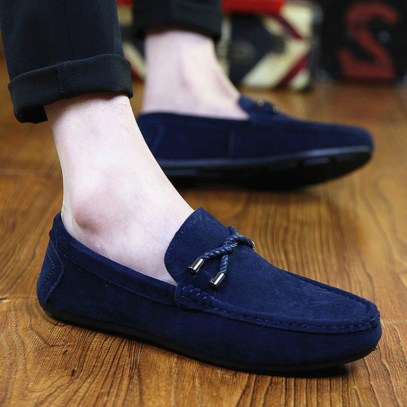 d42dea81e5a9b Men Luxury Driving Fashion Shoes Black Blue Male Genuine Leather Flats  Loafers Spring Summer Men Casual ...