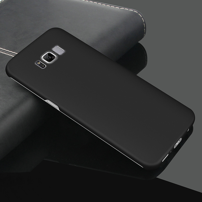 newest b958f a7653 Makavo For Samsung Galaxy S8 Case 360 Slim Hard Matte PC Back Cover ...