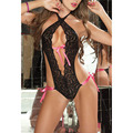 Lingerie Sexy Hot Erotic Lace Bandage Lenceria Sexy Temptation Backless Erotic Lingerie Teddy Sexy Underwear Women's Erotiic