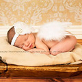 Lovely Baby Angel Wing and Lace Headband for Newborn Photo Prop Baby Angel Wings Sweet Angel 1 set