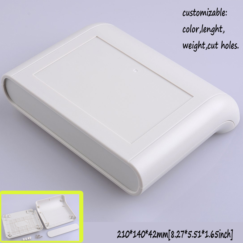 лучшая цена 210*140*42mm Network enclosure housing diy plastic junction box electronic project plastic case abs enclosure router box