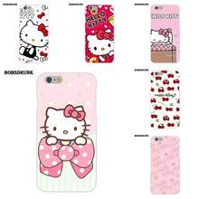 EJGROUP TPU Caso Moda Bonito Olá Kitty My Melody Bow Para O iPhone Da Apple X 8 7 6 s 6 SE 5C 5S 5 4S 4 Plus(China)