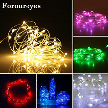 2M LED String Lights 3AA Battery Copper wire led