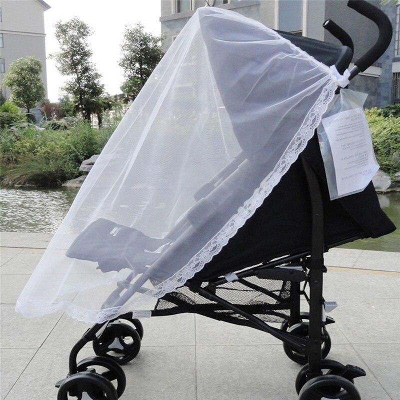 Детские коляски Коляска москитной сеткой безопасный Младенцы защитная сетка Аксессуары для колясок Сетки от комаров