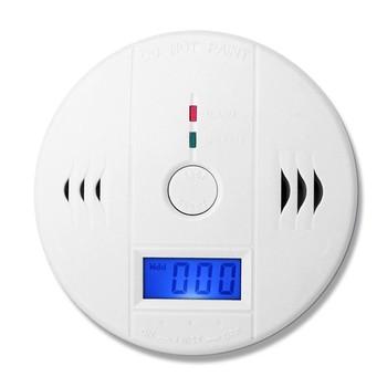 SmartYIBA inteligentny dom CO detektor Alarm ostrzegawczy Monitor tlenku węgla czujnik zatrucia detektor gazu dla bezpieczeństwa w domu Alarm tanie i dobre opinie Detektory tlenku węgla W SmartYIBA