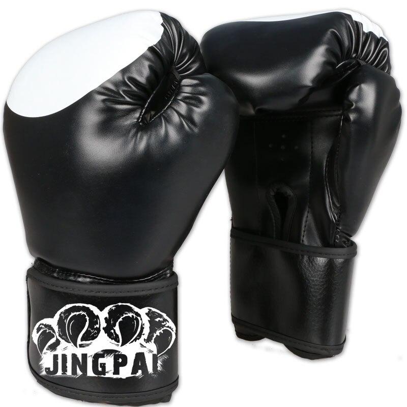 Перчатки для кикбоксинга, мужские и женские перчатки из искусственной кожи, Муай Тай, Санда, кунг-фу, ушу, для мужчин и женщин