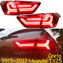 creta IX25 taillight,2015~2017,sedona,Encino,LED,IX25 rear light,LED,IX25 fog light;HLD,Elantra,santa fe,IX45,Tucson