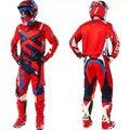 Frete Grátis conjunto de rali Cross country local Terno calças Dos Homens e mulheres de corrida de Motocross off-road downhill jersey (T-shirt + calças)