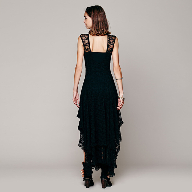 Boho Ruffle Maxi Dress