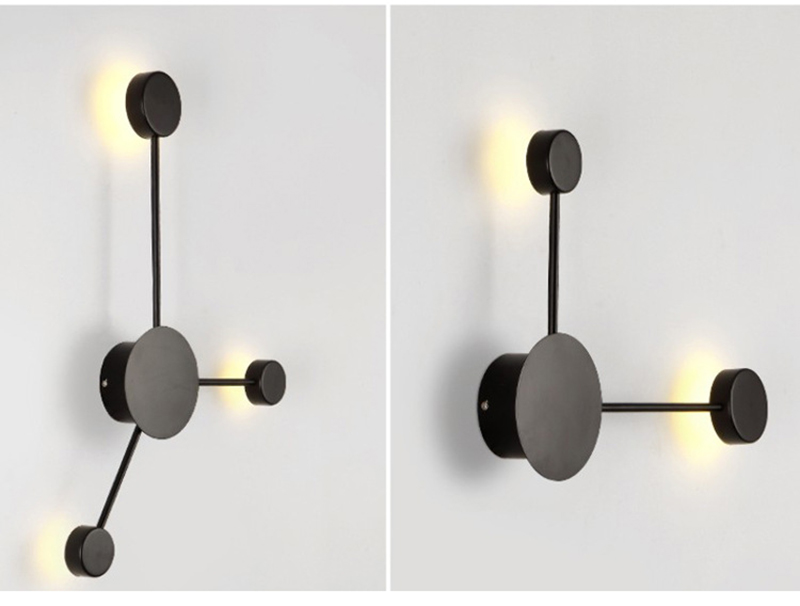Pós moderna lâmpada de parede simples led