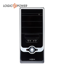 LOGIC POWER desktop computer case New Arrivals CD-ROMx2, PCIx7, USBx2,Power supply 400w,Fan 80mm, Structure SGCC #3917