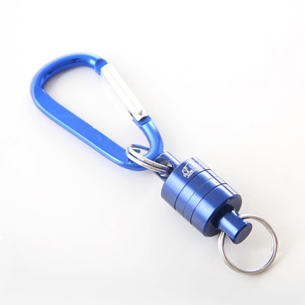 2018 Strong Train Release Magnetic Net Gear Release Lanyard cable Pull 4KG For Fly fishing tackle accessory tool Pesca