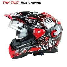 Vente chaude Casques THH motocross off road casque capacete casco moto racing moto casque intégral casques pare-brise DOT