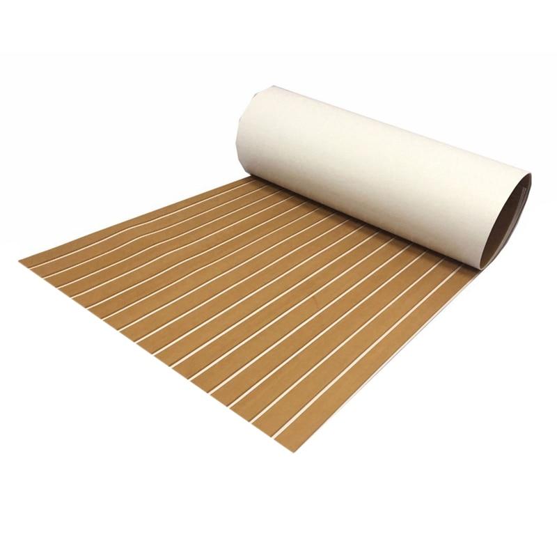 Feuille de platelage en teck Eva pour tapis de sol marin pour bateau