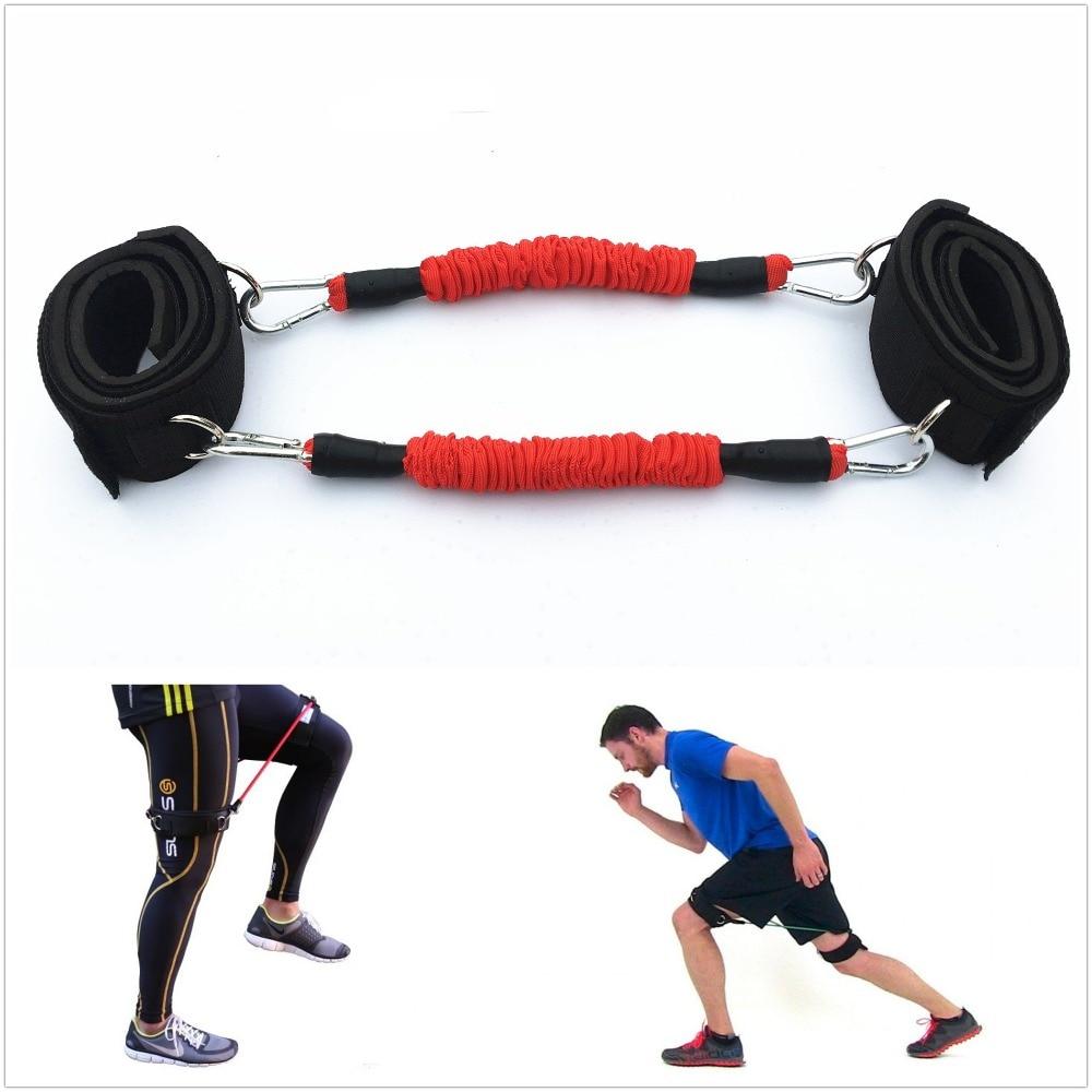 Rezistență Tub cinetic Picior glezne Curele benzi Antrenament de - Fitness și culturism