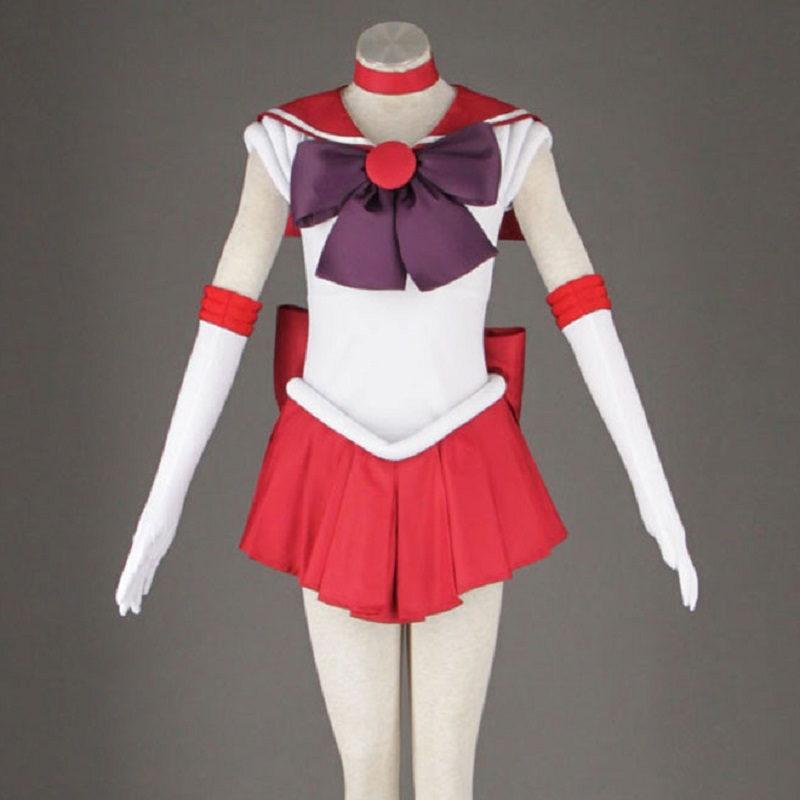 Halloween Women Unisex Sexy Girl Sailormoon Size Sailor Moon Saturn Cosplay Costume Set