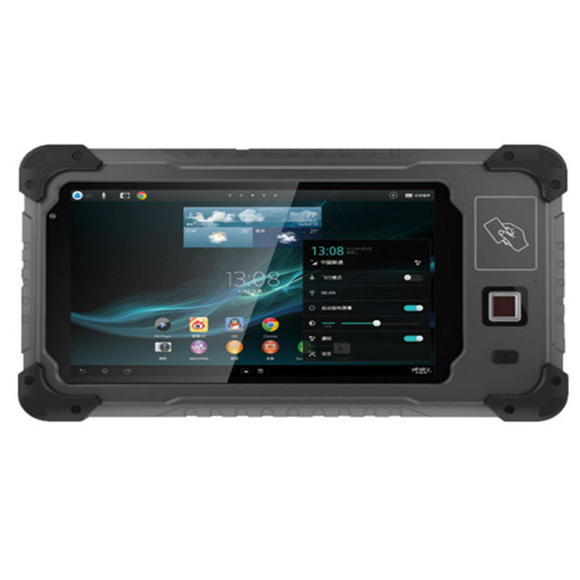 Rugged Tablet Pc 1d 2d Laser Barcode Scanner Mini Laptop Handheld Pda Android Waterproof