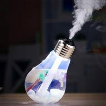 400ML USB DC 5V 7 Colors Night Light Air Ultrasonic Humidifier Oil Essential Aroma Diffuser Mist Maker Fogger With USB Cable