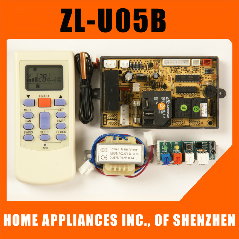 4pieces Lot Universal Air Conditioner Circuit Board Zl U05b Ac Main In Remote Controls From Consumer Electronics On Aliexpress Alibaba Group