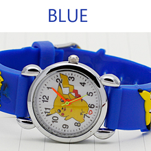 New 3D Cartoon Lovely Kids Girls Boys baby Children Students Quartz Wrist