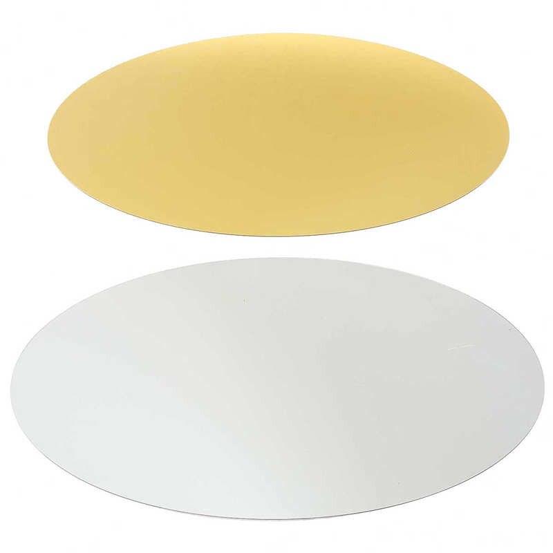 42x27cm Oval Removable Decorative Mirror Sticker Acrylic 3D Crystal ...