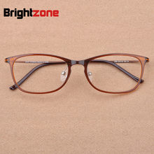 2019 Japan Hot Fashion Men's Brand Vintage Tungsten Glasses Frame Women Square Elegant Carbon Steel Myopia Optical Eyeglasses(China)