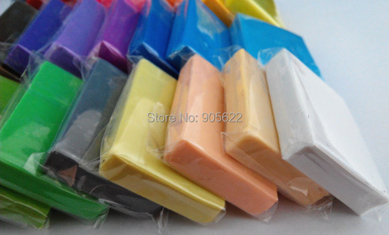 TOP SALE 12PC lot modeling clay polyclay pasta polimerica effect CLAY