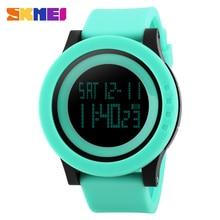 Sport Digital Watch Fashion Waterproof LED Wrist Watch Big Dial