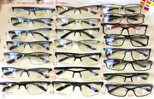 New Men Optical Frames Eyeglasses Frames Rack Commercial Glasses Fashion Eyeglasses Frame Myopia Aluminum Sports oculos de grau