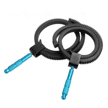 Para SLR Acessórios Da Câmera DSLR Follow Focus Engrenagem Belt Anel De Borracha Ajustável com Liga de Alumínio Aderência para DSLR Camera Camcorder