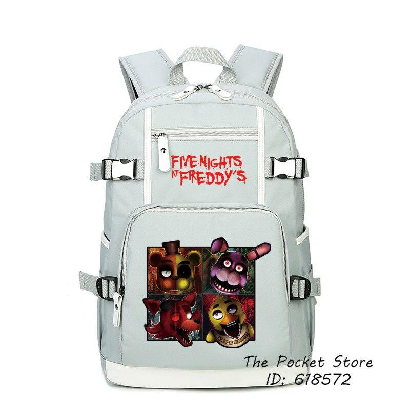 Jeu cinq nuits chez Freddy sac à dos femme sac à dos de voyage grande capacité sac à dos Mochila Feminina sac à dos pour ordinateur portable cartable Bookbag