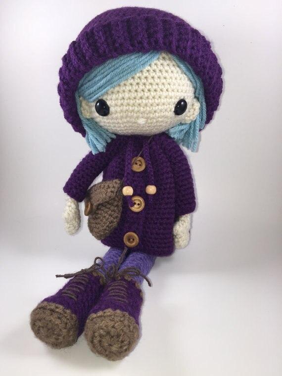 emilia amigurumi boneca croche