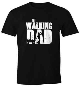 Heren T-Shirt The Walking DAD Vaderdag Geschenk Fun-Shirt Moonworks®