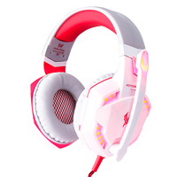 Original KOTION EACH G2000 Gaming Headset Headband Wired Earphone W Microphone LED Light Game Headphones For