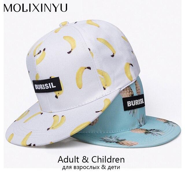 MOLIXINYU Snapback Casquettes Pour Adulte Et Enfant Casquette de Baseball  Bébé Hip Hop Chapeau Parent- 74b9e9111eb