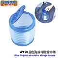 Acessórios do carro porta de vibração com retrátil de barris / trash ( mar azul transparente ) W190