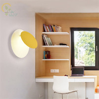 Modern Adjustable LED Wall Lamps Colors Wall Sconce Living Room Wall Deco Lighting Fixtures Colorful Bedroom Lamps