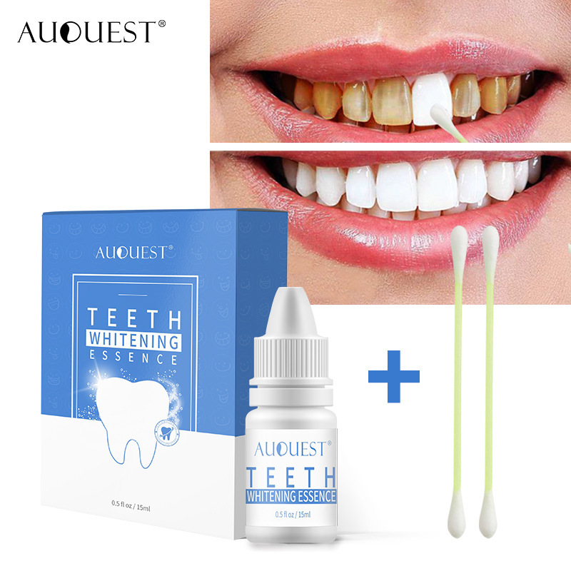 AuQuest New Crest Teeth Whitening Essence Instant Perfect Smile Dental Tanden Whitening Fresh Oral Care Teeth Care 15ml TSLM1