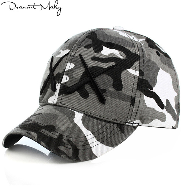 6e1dc516cbb Personality style XX Army Camo Baseball Cap Men Tactical Cap Camouflage  Snapback Hat For Men High Quality Bone Dad Hat Trucker