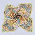 Зимний шарф женщины 2016 новая мода Стюардесса Натурального шелка печати многоцелевой полотенце бандана лошадь хиджаб платок шелковый шарф шарфы женские платок шарфы , платки , палантины шарф женский бандана