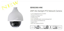 Free Shipping DAHUA Security IP Camera CCTV 2MP 30x Starlight PTZ Network Camera IP67 IK10 Without Logo SD50230U-HNI